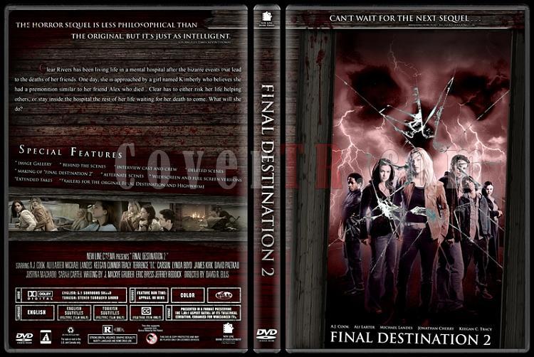 Final Destination Collection (Son Durak Koleksiyonu) - Custom Dvd Cover Set - English-2jpg