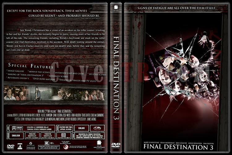 Final Destination Collection (Son Durak Koleksiyonu) - Custom Dvd Cover Set - English-3jpg