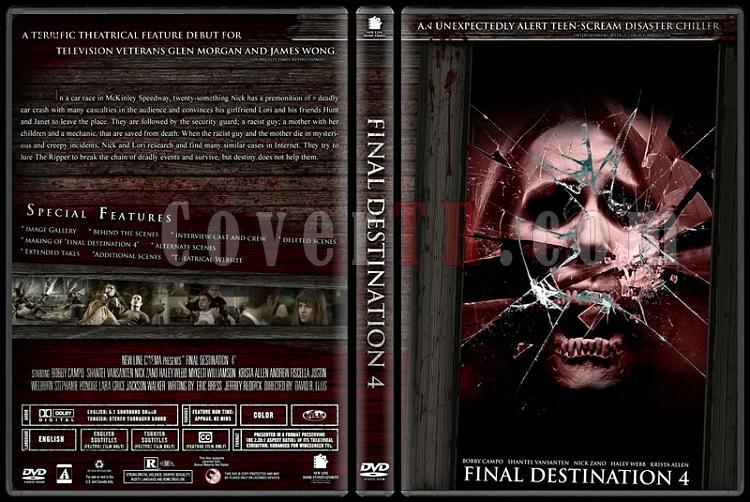 Final Destination Collection (Son Durak Koleksiyonu) - Custom Dvd Cover Set - English-4jpg