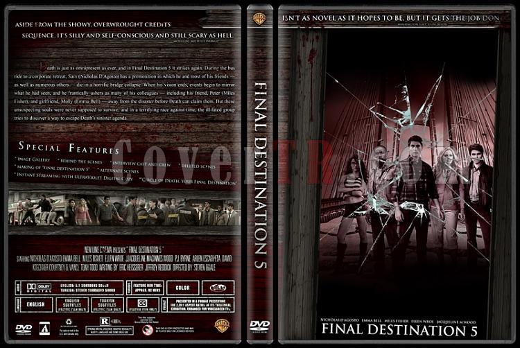 Final Destination Collection (Son Durak Koleksiyonu) - Custom Dvd Cover Set - English-5jpg