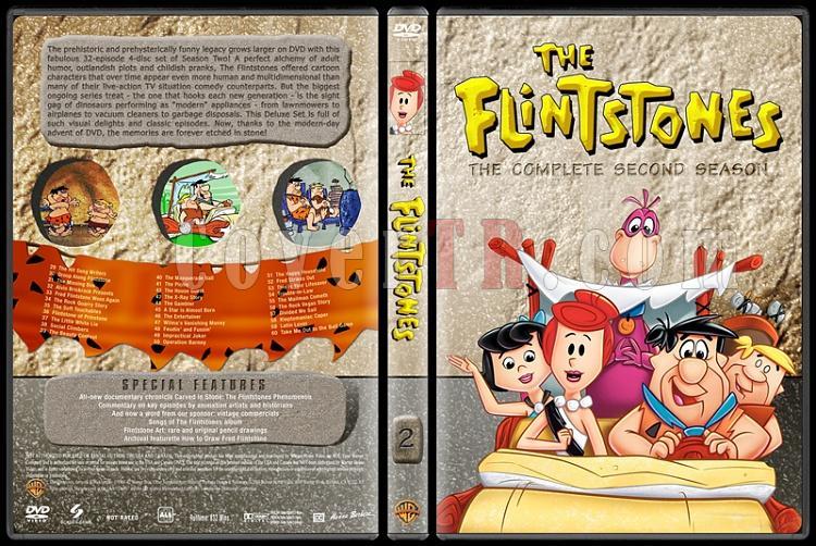 The Flintstones - Taş Devri (Seasons 1-6) - Custom Dvd Cover Set - English [1960-1966]-2jpg