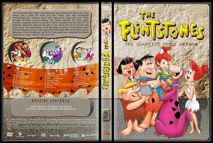 The Flintstones - Taş Devri (Seasons 1-6) - Custom Dvd Cover Set - English [1960-1966]-3jpg