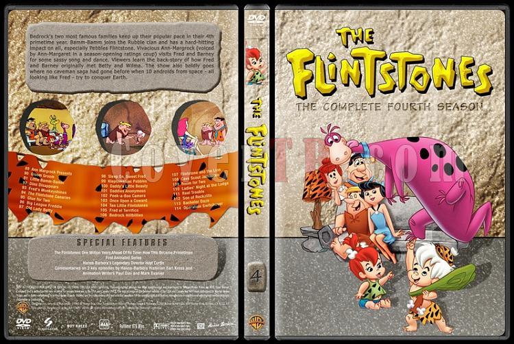 The Flintstones - Taş Devri (Seasons 1-6) - Custom Dvd Cover Set - English [1960-1966]-4jpg
