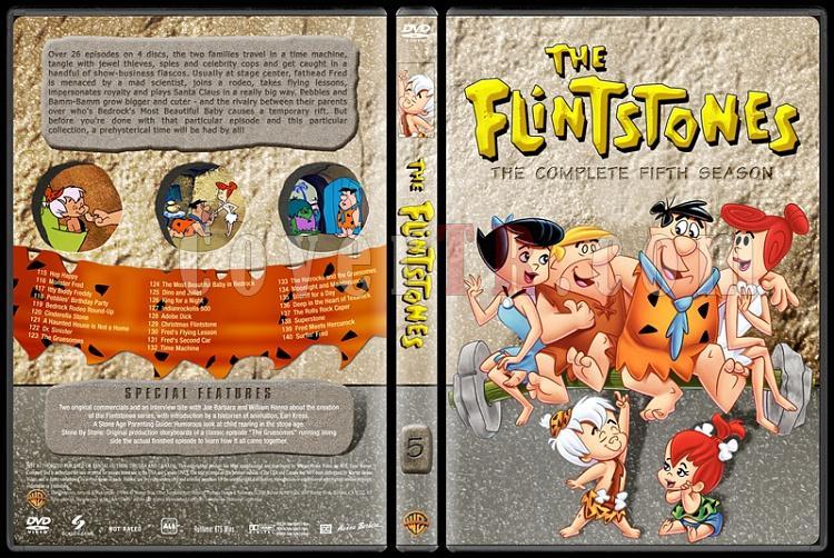 The Flintstones - Taş Devri (Seasons 1-6) - Custom Dvd Cover Set - English [1960-1966]-5jpg