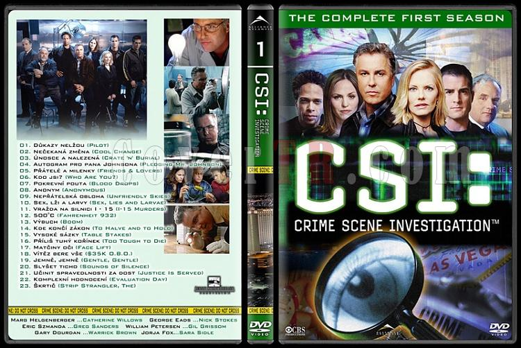 CSI: Las Vegas - New York - Miami - Custom Dvd Cover Set - English-1jpg