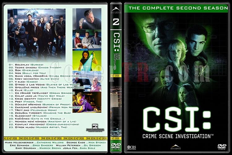CSI: Las Vegas - New York - Miami - Custom Dvd Cover Set - English-2jpg