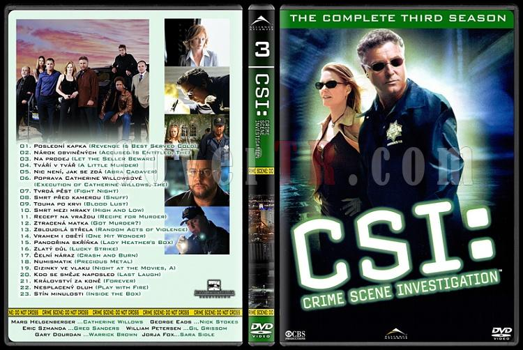 CSI: Las Vegas - New York - Miami - Custom Dvd Cover Set - English-3jpg
