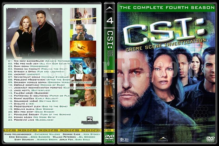 CSI: Las Vegas - New York - Miami - Custom Dvd Cover Set - English-4jpg