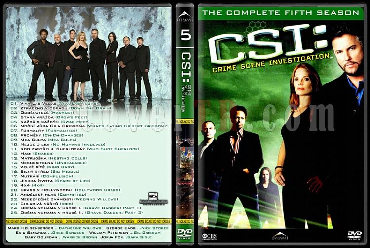 CSI: Las Vegas - New York - Miami - Custom Dvd Cover Set - English-5jpg