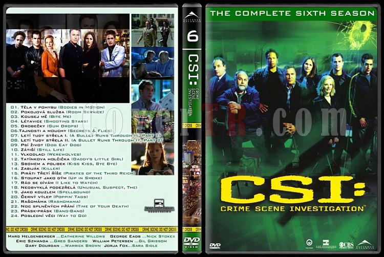 CSI: Las Vegas - New York - Miami - Custom Dvd Cover Set - English-6jpg