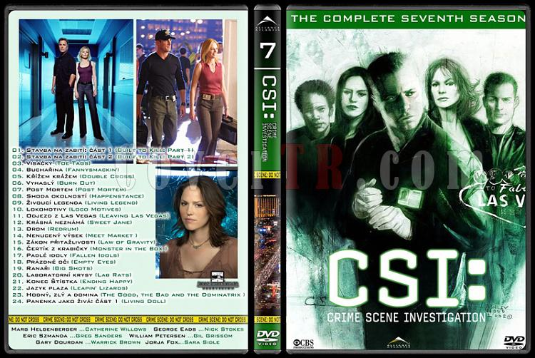 CSI: Las Vegas - New York - Miami - Custom Dvd Cover Set - English-7jpg