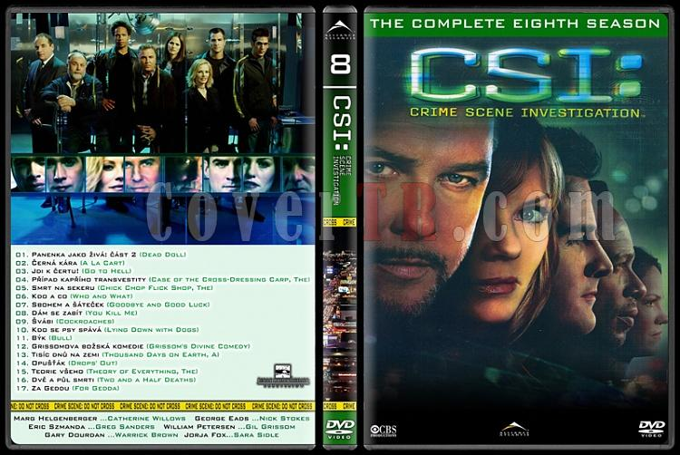 CSI: Las Vegas - New York - Miami - Custom Dvd Cover Set - English-8jpg