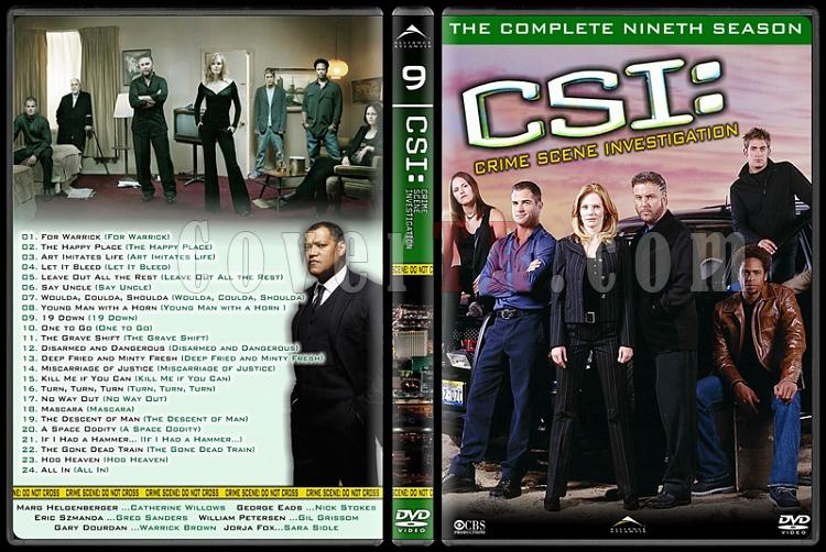 CSI: Las Vegas - New York - Miami - Custom Dvd Cover Set - English-9jpg