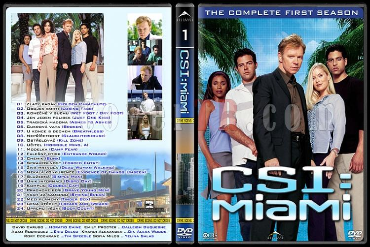 CSI: Las Vegas - New York - Miami - Custom Dvd Cover Set - English-10jpg