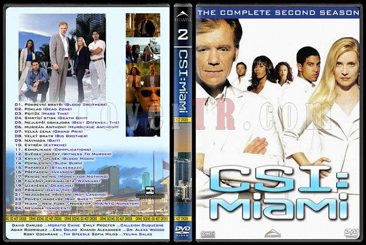 CSI: Las Vegas - New York - Miami - Custom Dvd Cover Set - English-11jpg