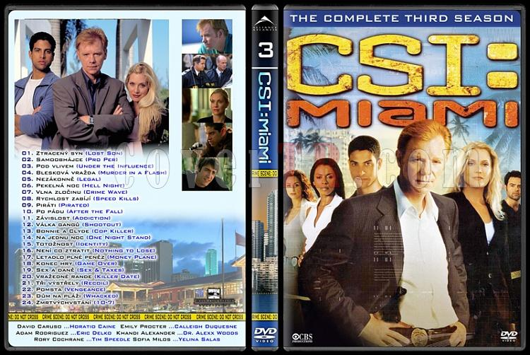 CSI: Las Vegas - New York - Miami - Custom Dvd Cover Set - English-12jpg
