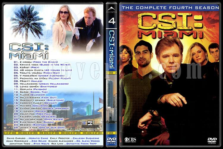 CSI: Las Vegas - New York - Miami - Custom Dvd Cover Set - English-13jpg