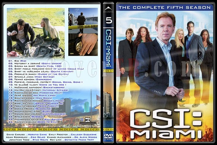 CSI: Las Vegas - New York - Miami - Custom Dvd Cover Set - English-14jpg