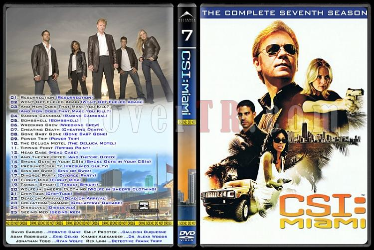 CSI: Las Vegas - New York - Miami - Custom Dvd Cover Set - English-16jpg
