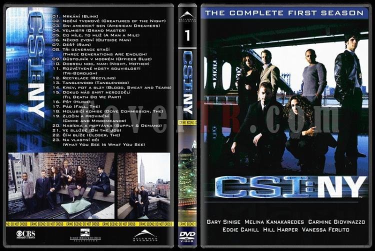 CSI: Las Vegas - New York - Miami - Custom Dvd Cover Set - English-17jpg