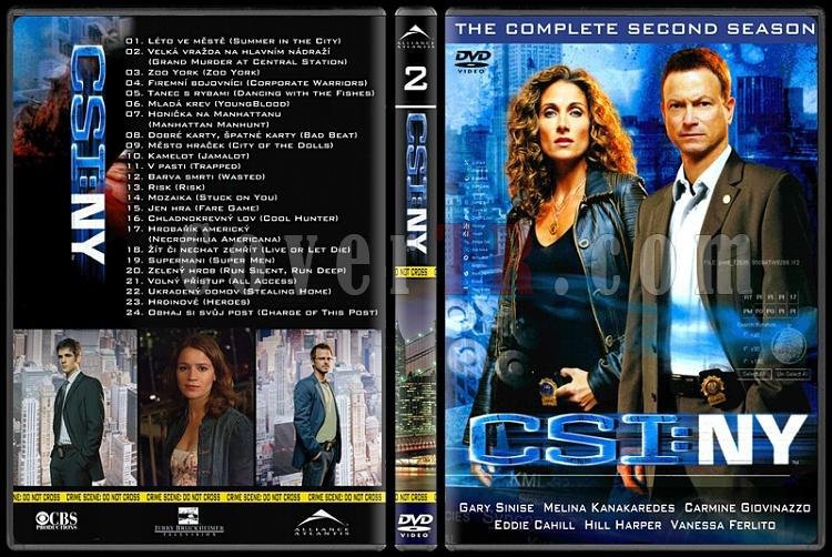 CSI: Las Vegas - New York - Miami - Custom Dvd Cover Set - English-18jpg