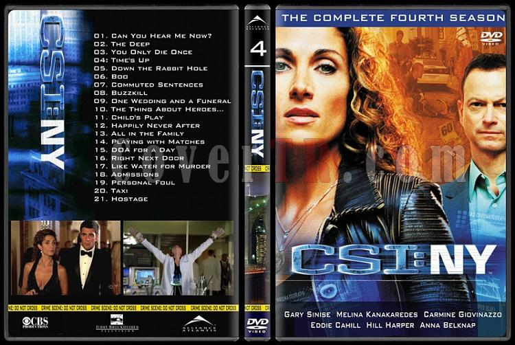 CSI: Las Vegas - New York - Miami - Custom Dvd Cover Set - English-20jpg