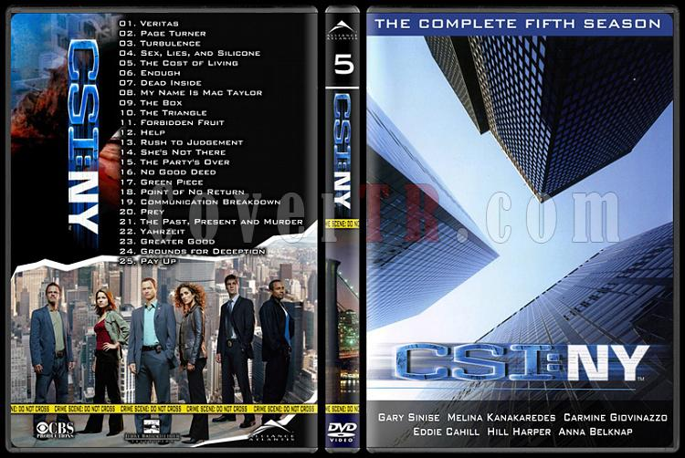 CSI: Las Vegas - New York - Miami - Custom Dvd Cover Set - English-21jpg