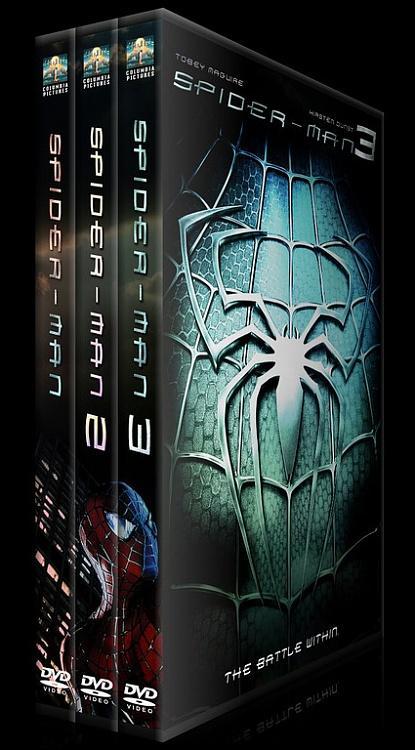 Spider-Man Collection (Örümcek Adam Koleksiyonu) - Custom Dvd Cover Set - English-1dsadajpg