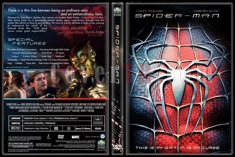 Spider-Man Collection (Örümcek Adam Koleksiyonu) - Custom Dvd Cover Set - English-1-1jpg