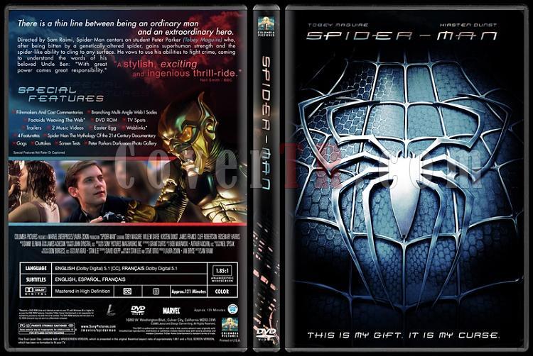 Spider-Man Collection (Örümcek Adam Koleksiyonu) - Custom Dvd Cover Set - English-1-2jpg