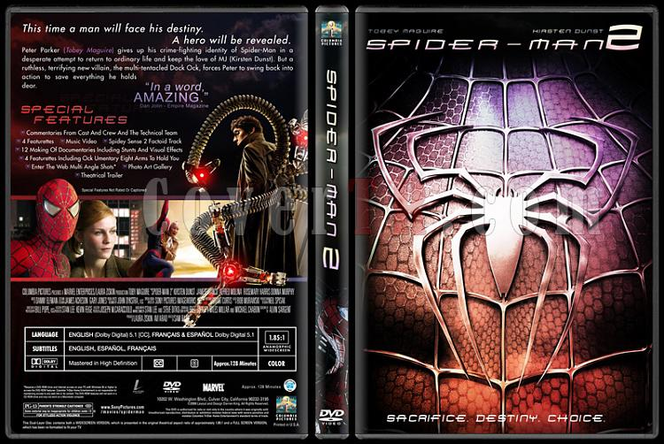 Spider-Man Collection (Örümcek Adam Koleksiyonu) - Custom Dvd Cover Set - English-2-1jpg