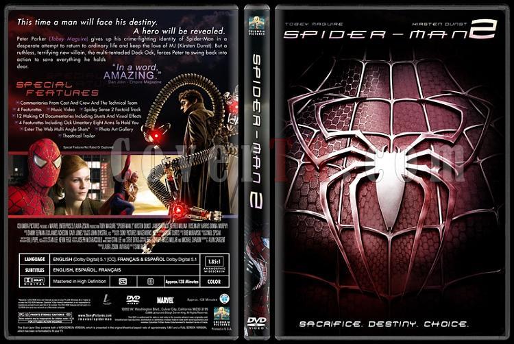 Spider-Man Collection (Örümcek Adam Koleksiyonu) - Custom Dvd Cover Set - English-2-2jpg