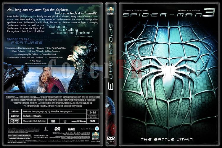 Spider-Man Collection (Örümcek Adam Koleksiyonu) - Custom Dvd Cover Set - English-3-1jpg