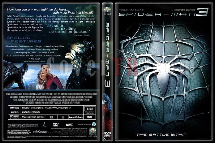 Spider-Man Collection (Örümcek Adam Koleksiyonu) - Custom Dvd Cover Set - English-3-2jpg