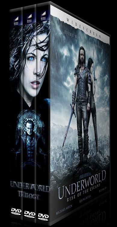 Underworld (Karanlıklar Ülkesi) - Custom Dvd Cover Set - English [2003-2009]-adaasjpg