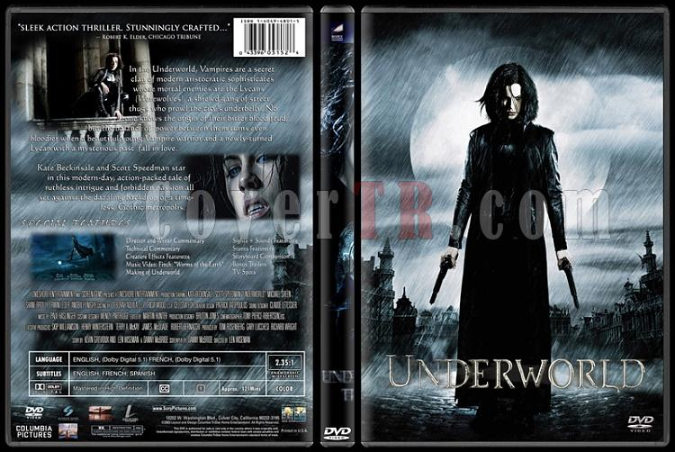 Underworld (Karanlıklar Ülkesi) - Custom Dvd Cover Set - English [2003-2009]-1jpg