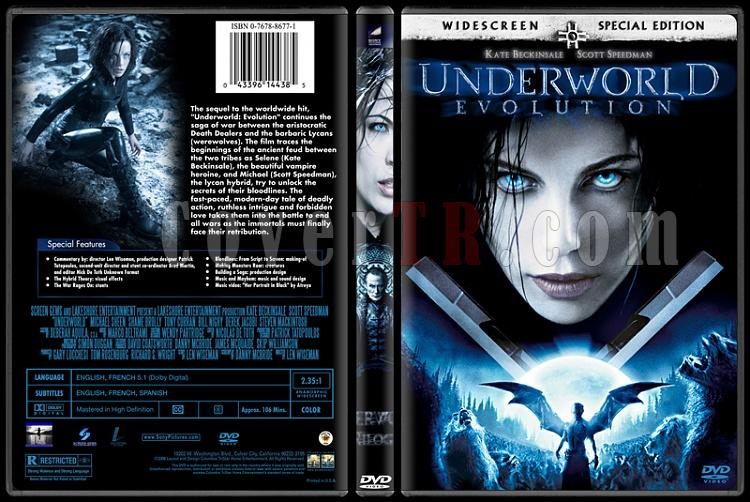 Underworld (Karanlıklar Ülkesi) - Custom Dvd Cover Set - English [2003-2009]-2jpg