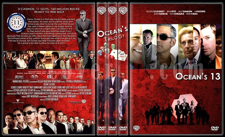 Ocean's (11-12-13) - Custom Dvd Cover Set - English [2001-2004-2007]-standard-3-season-flatjpg