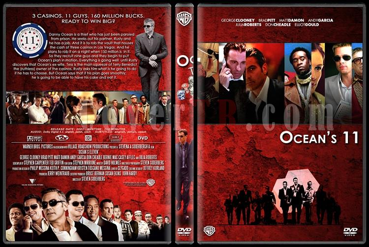 Ocean's (11-12-13) - Custom Dvd Cover Set - English [2001-2004-2007]-oceans-111jpg