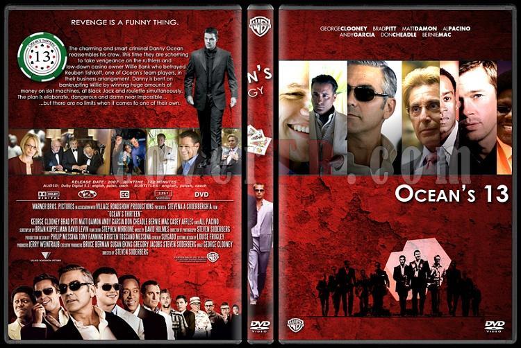 Ocean's (11-12-13) - Custom Dvd Cover Set - English [2001-2004-2007]-oceans-133jpg