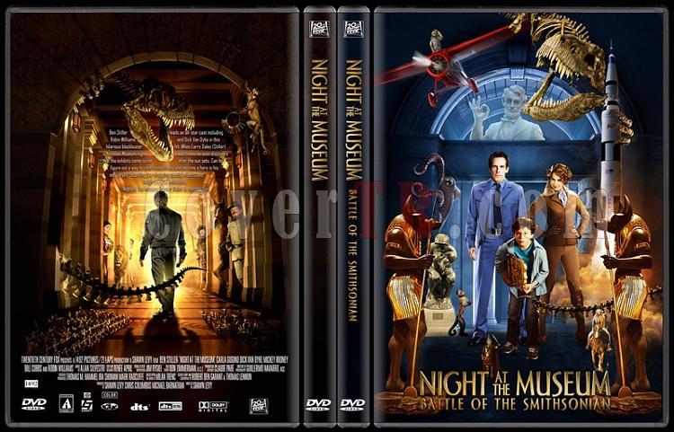 Night at the Museum (Müzede Bir Gece) - Custom Dvd Cover Set - English [2006-2009]-standard-2-season-flatjpg