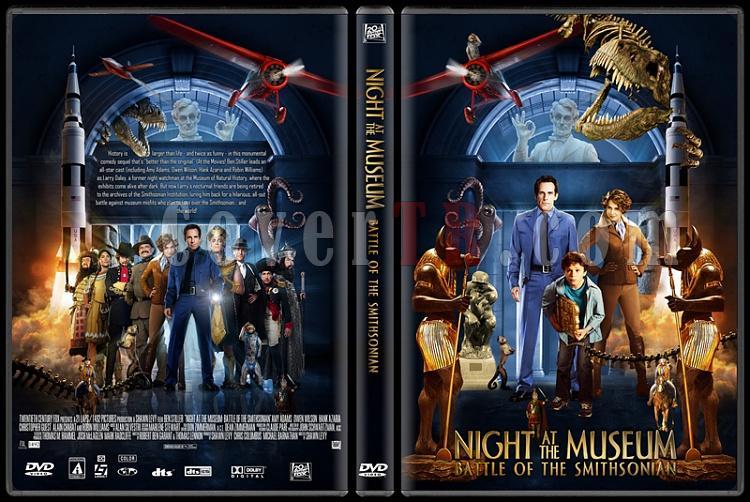 Night at the Museum (Müzede Bir Gece) - Custom Dvd Cover Set - English [2006-2009]-night_at_the_museum_battlejpg