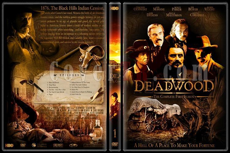 Deadwood (Seasons 1-3) - Custom Dvd Cover Set - English [2004-2006]-deadwood-1jpg