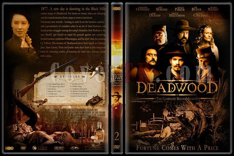 Deadwood (Seasons 1-3) - Custom Dvd Cover Set - English [2004-2006]-deadwood-2jpg