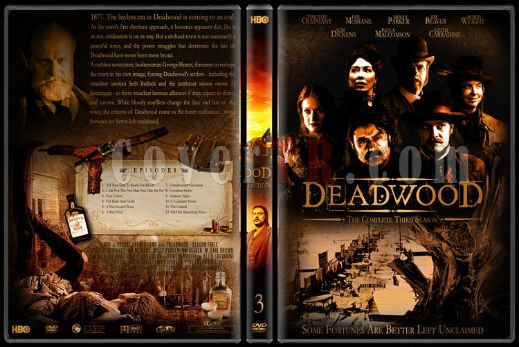 Deadwood (Seasons 1-3) - Custom Dvd Cover Set - English [2004-2006]-deadwood-3jpg
