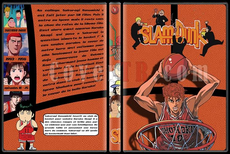 Slam Dunk - Custom Dvd Cover Set - French [1993-1996]-1jpg