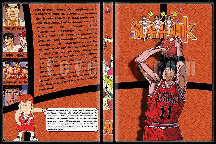 Slam Dunk - Custom Dvd Cover Set - French [1993-1996]-2jpg