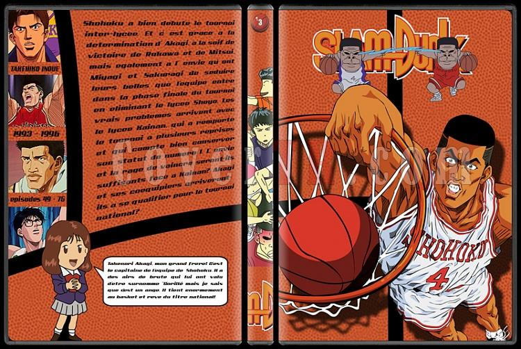 Slam Dunk - Custom Dvd Cover Set - French [1993-1996]-3jpg