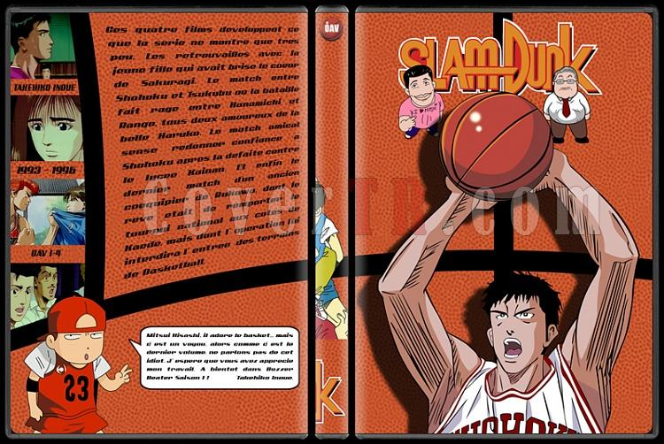 Slam Dunk - Custom Dvd Cover Set - French [1993-1996]-5jpg
