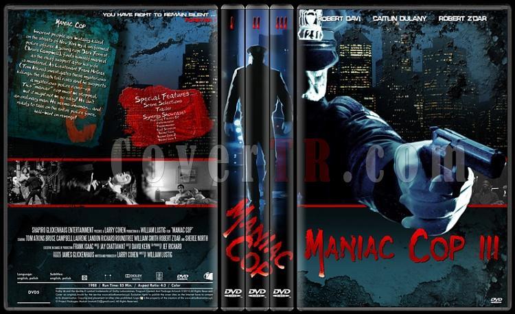 Maniac Cop Collection - Custom Dvd Cover Set - English [1988-1990-1993]-onizleme-2jpg